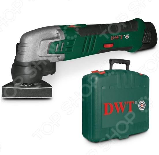 Машина шлифовальная многофункциональная DWT AMS-10,8 Li BMC