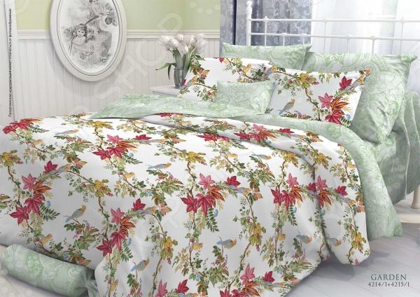 Комплект постельного белья Verossa Constante «Garden». 2-спальный verossa комплект постельного белья 2 0спальный remember me