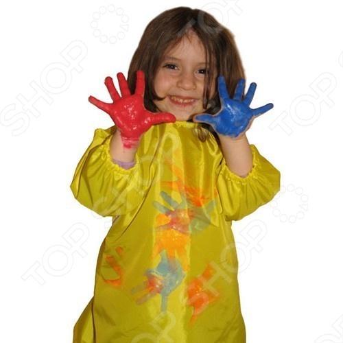 Спецодежда для творчества СПОРТБЭБИ Рубашка - создана специально для маленького художника. Одев на малыша эту непромокаемую рубашку можно дать ему полную свободу действий и творчества не переживая за то, что он испачкает свою одежду. Яркая расцветка фартука обязательно понравиться малышу и он с удовольствием согласиться носить эту спец-одежду . Для большего удобства на рубашке предусмотрена молния. Легко стирается в тёплой мыльной воде.