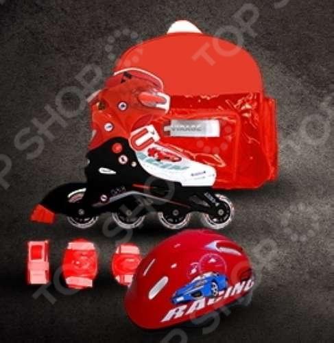 фото Комплект для катания на коньках ВС85084. В ассортименте, купить, цена