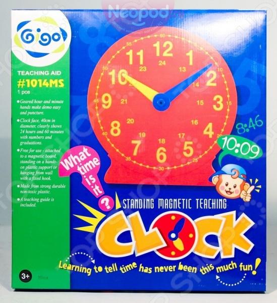 Конструктор развивающий Gigo «Большие часы» конструктор развивающий gigo 7329 сила упругости