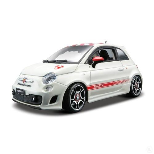 Модель автомобиля 1:18 Bburago Fiat Abarth 500. В ассортиментеМодели авто<br>Товар продается в ассортименте. Цвет изделия при комплектации заказа зависит от наличия товарного ассортимента на складе. Модель 1:18 Fiat Abarth 500 представляет собой точную копию настоящего автомобиля. Коллекционная модель выпущена известной компанией по производству игрушек Bburago. Особенность коллекции в том, что все модели изготовлены по лицензии именитых автопроизводителей. Она изготовлена из металла с элементами пластика. У машинки открываются двери, вращаются колеса. Модель 1:18 Fiat Abarth 500 является отличным подарком не только ребенку, но и коллекционеру.<br>