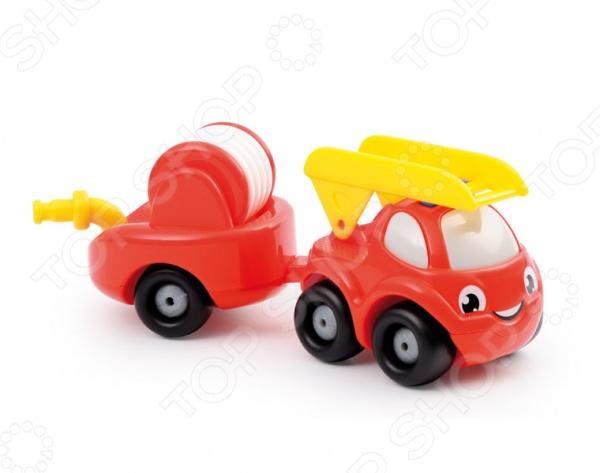 Игровой набор Smoby «Грузовик пожарный с прицепом» smoby пожарный грузовик vroom planet smoby