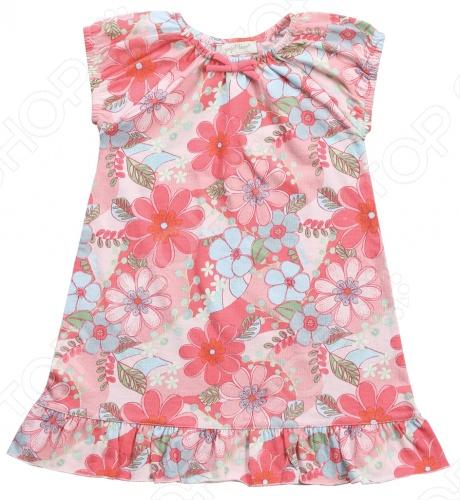 Платье Angel Dear SavannahДетские платья и сарафаны<br>Angel Dear, создает классическую одежду для новорожденных и детей младшего возраста от 0 до 4 лет . При создании учитываются самые современные тенденции в мире моды, и особое внимание уделяется деталям. Каждая коллекция имеет свой неповторимый стиль, который дополняется различными милыми аксессуарами, чтобы сохранить ощущения столь сладостного периода детства. Комфорт ребенка - основополагающий принцип в создании коллекций каждого сезона. Линии одежды Angel Dear вы можете увидеть в лучших бутиках и магазинах по всей территории США. Платье Angel Dear Savannah. Повседневное платье без рукавов, модель имеет округлый вырез на резинке, по низу украшено рюшей. Прекрасный вариант на каждый день! Состав: 100 хлопок.<br>