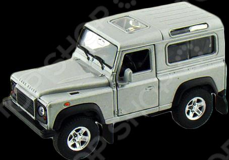 Модель машины 1:34-39 Welly Land Rover Defender. В ассортименте