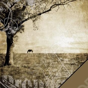 фото Бумага для скрапбукинга Rayher «Ландшафт», купить, цена