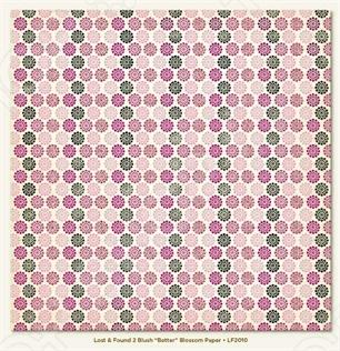 фото Бумага для скрапбукинга двусторонняя Morn Sun Blossom, купить, цена