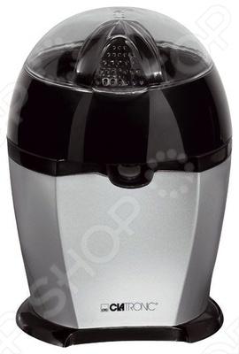 Соковыжималка Clatronic ZP 3253Соковыжималки<br>Любите витамин С В апельсине его очень много. Для того чтобы получить заряд бодрости и набор необходимых витаминов достаточно просто выпить стаканчик свежевыжатого сока из цитруса. Какого Да любого. А без хлопот доставить к вашему утреннему столу его поможет соковыжималка CLATRONIC ZP 3253 с красивым стильным дизайном.  Эта соковыжималка оснащена двумя пресс конусами, которые автоматически крутятся и вправо и влево. Такое устройство соковыжималки помогает максимально выжать сок из апельсинов, мандаринов, грейпфрутов, лимонов и лайма.  Конструкция соковыжималки проста. Но именно это ее качество станет для вас незаменимым, если вы хотите научить своего ребенка с детских лет заботиться о здоровье. И самостоятельно уметь выжать для себя стаканчик ароматного, изобилующего витаминами, сока.  Мощность соковыжималки CLATRONIC ZP 3253 всего 25 Вт, но чтобы в цитрусе не осталось ничего, кроме цедры, этого вполне достаточно. Данная модель обладает специальной функцией капля - стоп . Натуральные соки - это залог хорошего здоровья!<br>
