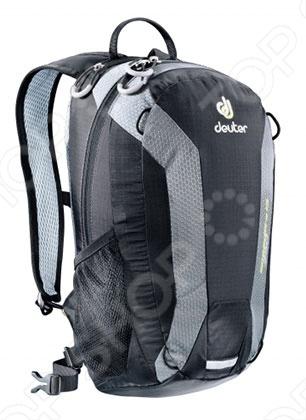 Рюкзак Deuter Speed lite 15 2013 это отличный походный рюкзак, который составит вам добрую компанию в любом путешествии. Новый спортивный и урбанистический дизайн прекрасно смотрится и на тропинках в горах, и на оживленных улицах города. Идеально подходит для езды на велосипеде. Есть совместимость фиксатора для питьевой системы. Кроме того, рюкзак оснащен компрессионными ремнями, анатомическими плечевыми лямками и набедренным поясом с сетчатыми крыльями, двумя боковыми карманами.