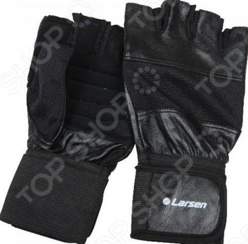 Перчатки для тяжелой атлетики и фитнесса Larsen NT502 обувь для легкой атлетики health 160
