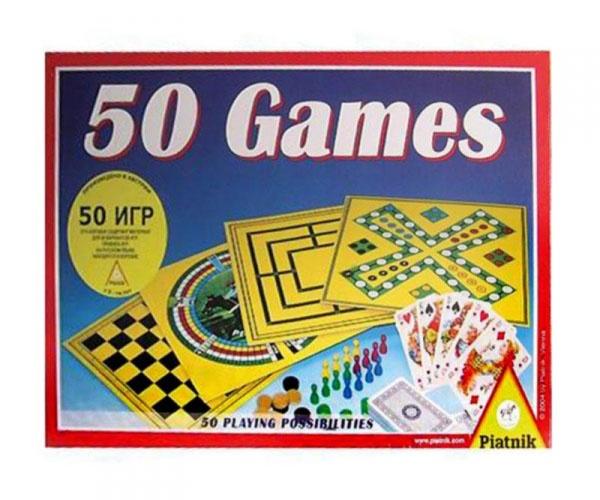 Игра настольная Piatnik «50 игр»
