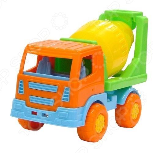 Машинка игрушечная Полесье Бетоновоз 3260 машина игрушечная с аксессуарами полесье майк