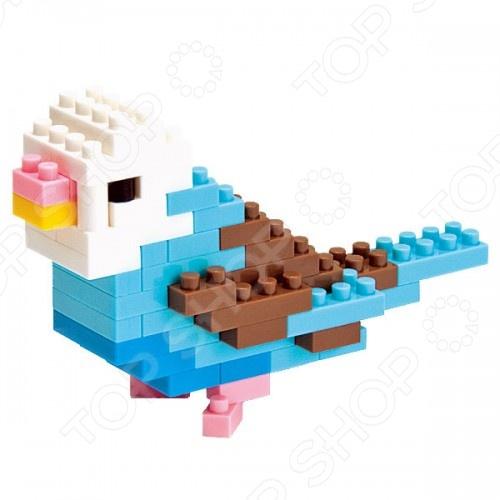 Мини-конструктор Nanoblock «Волнистый попугайчик»