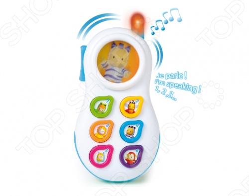 новая модель русского языка телефон игрушка обучения интерактивные игрушки для детей Телефон игрушечный Smoby 211314. В ассортимете