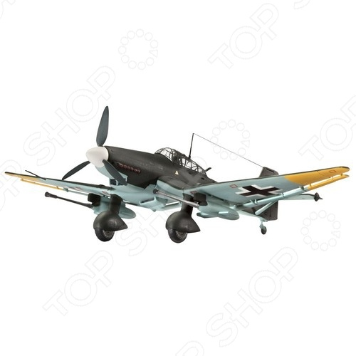 Сборная модель штурмовика Revell Junkers Ju 87 G-2