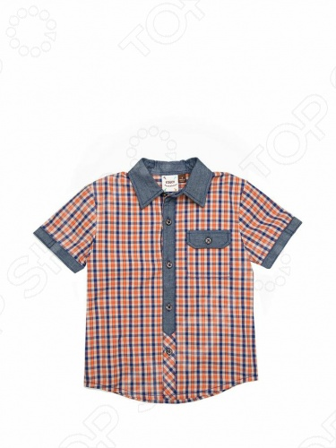 Рубашка с коротким рукавом Fore!! Axel and Hudson Playground Check Shirt