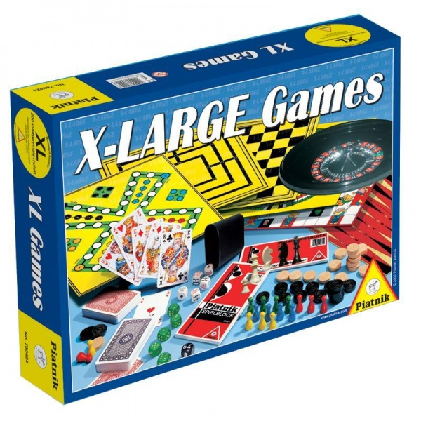 Игра настольная Piatnik «XL+шахматы и рулетка» дорожные шахматы