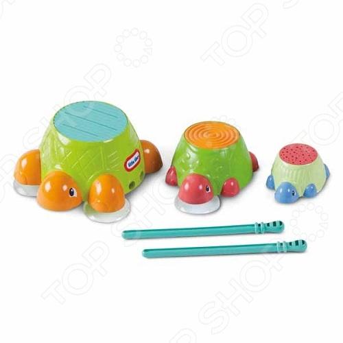 Игра для ванной Little Tikes Черепашки-барабаны