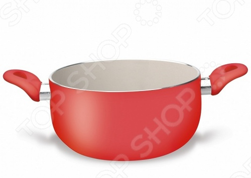 Кастрюля PENSOFAL RedКастрюли<br>Кастрюля PENSOFAL Red это отличная кастрюля, которая подойдёт для приготовления первых и вторых блюд. Кастрюля сделана из алюминия с применением антипригарного керамического покрытия, обеспечивает возможность готовить без добавления жира, легко чистится и имеет хорошие характеристики износостойкости. С внешней стороны посуды нанесён термостойкий лак, который надолго сохранит цвет. Подходит для всех варочных поверхностей, включая индукционные.<br>