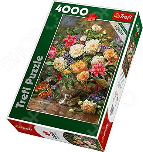 Пазл 4000 элементов Trefl «Цветы для королевы Елизаветы»