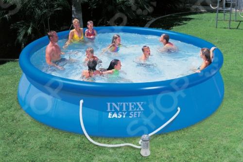Бассейн надувной Intex 54914 надувной бассейн intex бассейн аквариум 152 56см