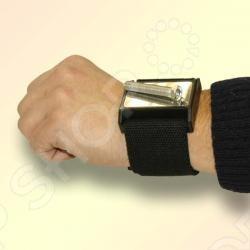 Магнит на руку FIT 67450Сумки. Ящики. Шкафы для инструментов<br>Магнит на руку предназначен для фиксации бит, крепежа и пр. на руке при работе в труднодоступных местах. Застёжка липучка . Материал: пластик, ферромагнетик.<br>