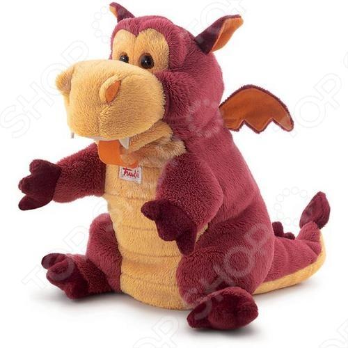 Мягкая игрушка на руку Trudi Дракон Игрушка мягкая на руку Trudi Дракон /