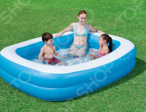 Бассейн надувной Bestway «Семейный» 54005 бассейн bestway 457х107см бв57127