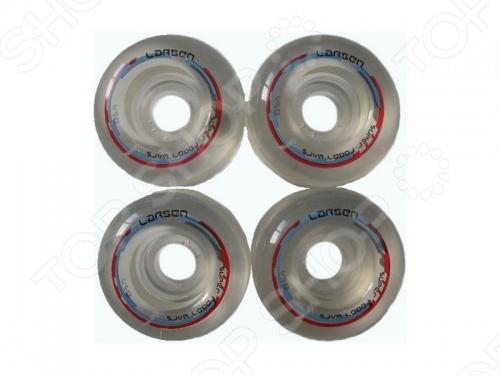 Колеса для скейтбордов Larsen C 85A колеса для скейтборда для скейтборда nomad crown logo black 102a 54 mm
