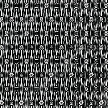 фото Бумага для скрапбукинга Rayher «Черные ретро-цветы», купить, цена