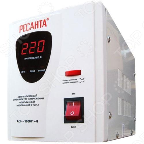 Стабилизатор напряжения Ресанта АСН 1000/1-Ц стабилизатор ресанта асн 1000 1 ц