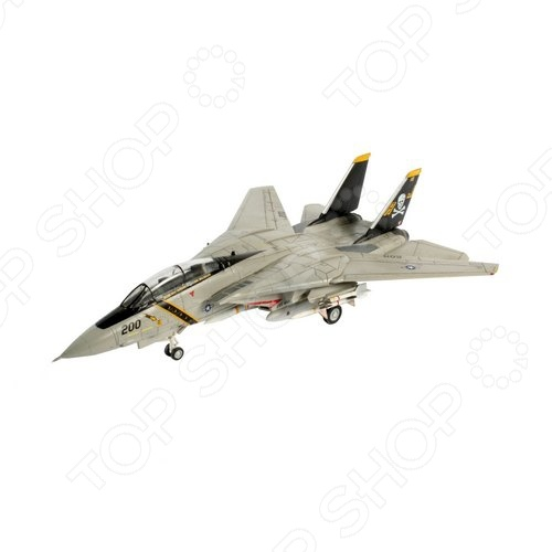 Сборная модель истребителя Revell F-14A «Tomcat» f 14a tomcat us navy 1 200 hogan united states naval fighter weapons school