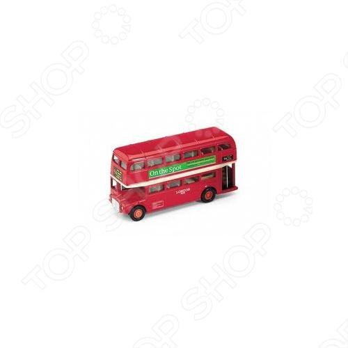 Модель автобуса 1:34-39 Welly London Bus 99930. В ассортименте