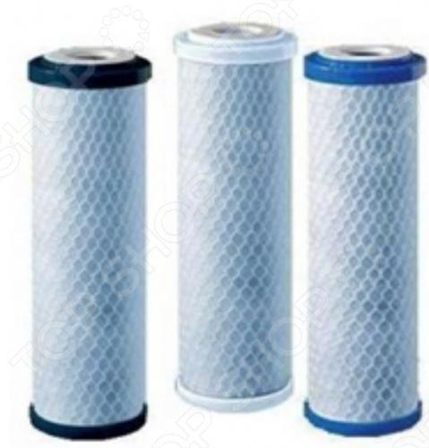 Комплект модулей сменных фильтрующих Аквафор В510-03-02-07 комплект сменных фильтрующих модулей аквафор в510 03 02 07