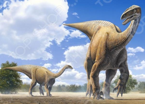 Пазл 120 элементов MIDI Castorland «Динозавры»Пазлы (101–500 элементов)<br>Пазл 120 элементов MIDI Castorland Динозавры это красочный пазл, который позволит вашему ребенку создать прекрасную картину, а так же развлечет всю семью. Соберите этот шедевр и вы сможете украсить им стену, закрепить на столе, либо на любой другой поверхности. На собранных картинах ваш ребенок сможет увидеть динозавров. Пазлы изготавливаются из качественного и безопасного материала, вы сможете собирать его вместе с детьми. Игра отлично развивает мелкую моторику пальцев, логику и пространственное мышление.<br>