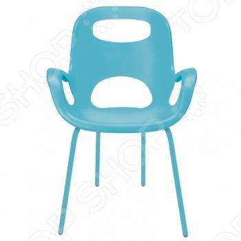 Стул дизайнерский Umbra Oh Chair создан признанным гуру промышленного дизайна. Здесь смешаны классика и ретро-шик. Это превосходный элемент мебели. Сиденье сделано из прочного полипропилена с матовым покрытием и выдерживает вес до 136 килограмм. Стул станет отличным предметом интерьера в гостиной, на кухне, в саду и в других местах. Umbra это компания, которая уже более 30 лет занимается производством оригинальных домашних аксессуаров. Сегодня Umbra признана в 118 странах мира, в том числе и в России, одним из лидеров в области оригинального, доступного и простого современного дизайна для дома и интерьера. Umbra создает и производит уникальные вещи превосходного качества для оформления интерьера гостиных, спален, кухонь и ванных комнат.