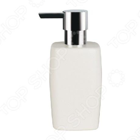 Ёмкость для жидкого мыла керамическая Spirella RETRO сделана из керамики и выполнена в ретро-стиле, который вот уже несколько лет не выходит из моды. Прямоугольные сглаженные углы делают эту емкость изящной. Такой аксессуар подойдет для хранения жидкого мыла, при этом поверхность раковины останется чистой и аккуратной.