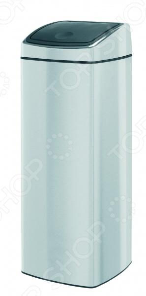 фото Бак для мусора прямоугольный Brabantia Touch Bin. Объем: 25 литров, купить, цена