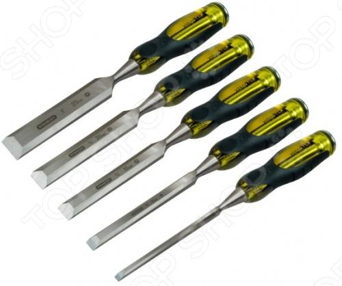 Набор стамесок Stanley DynaGrip PRO 2-16-271 набор стамесок stanley dynagrip 6 12 18 25 32 мм 5 шт