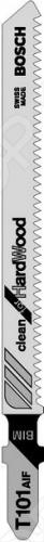 Набор пилок для лобзика Bosch T 101 AIF BIM набор пилок по дереву bosch t101bf bim 2шт 2609256728