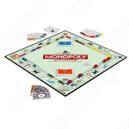 Настольная игра Hasbro Монополия - популярная и увлекательная настольная игра, в неё могут играть от 2 до 8 игроков. Смысл игры заключается в том, что бы скупить всю недвижимость и стать монополистом. Игра развивает логику и учит правильно распоряжаться финансами. С игрой Монополия вся семья может весело и с пользой проводить свободное время.