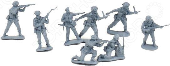 Набор солдатиков Биплант «Британские парашютисты»