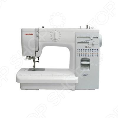 Швейная машина Janome 5522 электромеханическая швейная машина vlk napoli 2100