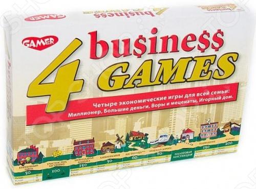 Настольная игра 4 business games / 4 экономические игры