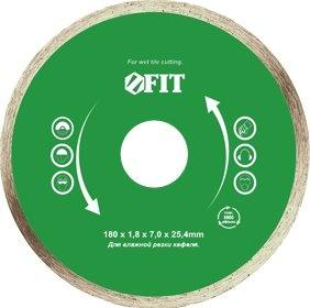 Диск обрезной сплошной для влажной резки это отличный отрезной диск с возможностью турбо-волны. Кроме того, есть возможность влажной резки. За счет усиленной структуры диск подойдет для резки кафеля. Материал корпуса: высококачественная инструментальная сталь, режущая кромка с техническими алмазами. В случае, если вам необходимо провести качественную резку, этот диск именно то, что вам нужно.