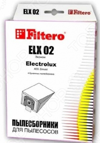 Набор пылесборников Filtero FLY 02 (4) ЭкономАксессуары для пылесосов<br>Набор пылесборников Filtero FLY 02 4 Эконом стандартные одноразовые мешки, которые защищают от мельчайших частиц пыли и аллергенов. Мешки достаточно прочные и не деформируются. Сделаны из специальной двухслойной фильтровальной бумаги на оборудовании соответствующему европейскому стандарту качества. Совместимы со всеми моделями пылесосов Bimatek, Bork, Cameron, Elenberg, Elekta, Evgo, Alpina, Atlanta, Clatronic, HOOVER, Hyunday, Melissa, Polar, Polaris, Rolsen, Rowenta, Scarlett, Shivaki, Trony, Ufesa, Vitek. В комплекте предоставляются 4 пылесборника.<br>