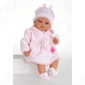 Кукла Munecas Antonio Juan «Боня в розовом»
