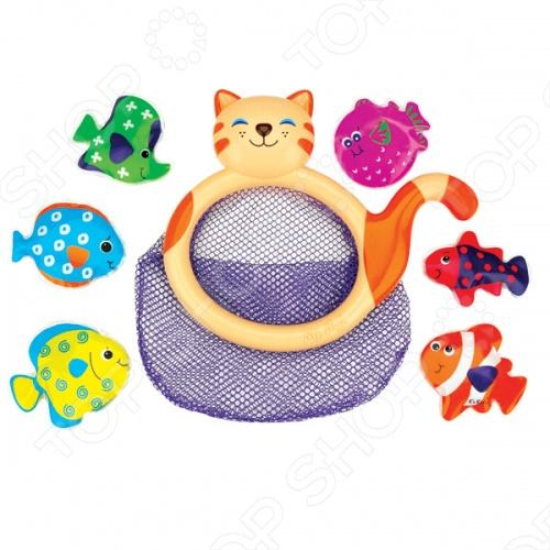 Игрушка для ванны K'S Kids «кошка-сачок Мими»