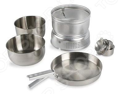 Набор посуды со спиртовой горелкой Tatonka Multi Set