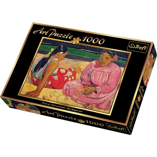 Пазл 1000 элементов Trefl «Таитянские женщины на пляже-Эдгар Дега»